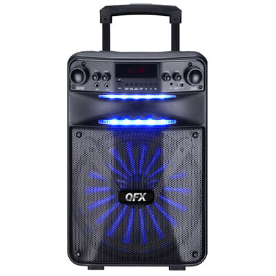 """Qfx PBX-1210 12"""" Tailgate or Party Speaker"""