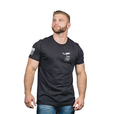 Men's Because of the Brave Tee, , large