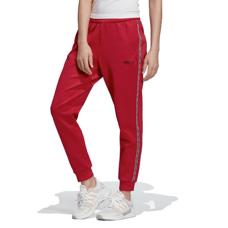 Women's Celebrate The 90's Trackpants, Dk Red,Wine,Ruby,Burgandy, large image number 0
