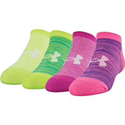 Under Armour Girls' Under Armour Essential No Show Socks