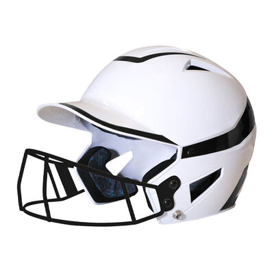 Champro Senior 2-Tone Fast Pitch Helmet with mask