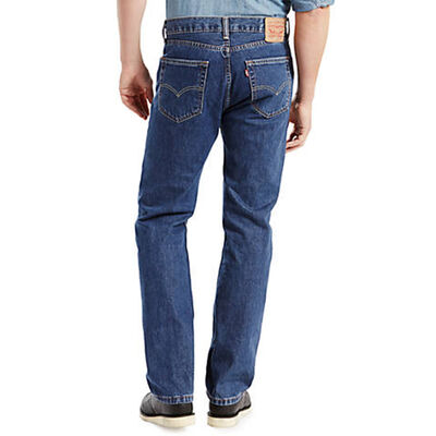 Men's 505 Darkwash Regular Jeans, , large