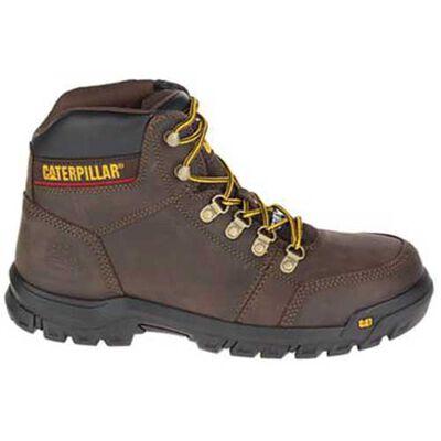 Cat Men's Caterpillar Outline Steel Toe Work Boots