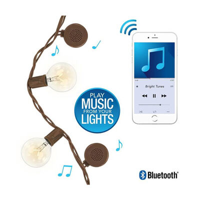 Bright Tunes Bright Tunes 15' String Lights with Bluetooth Speakers