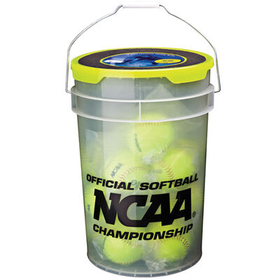 "Rawlings 18 Count 12"" NCAA Team Softball & Coaches Bucket"