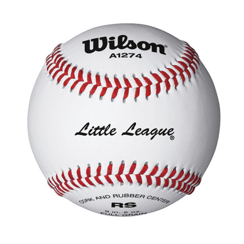 3 Pack A1274 Little League Baseballs, , large image number 0