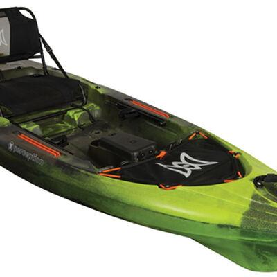 Pescador 10 Pro Angler Kayak, Green/Blk, large