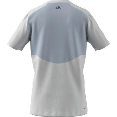 Men's Fade Badge of Sport Tee, White, large