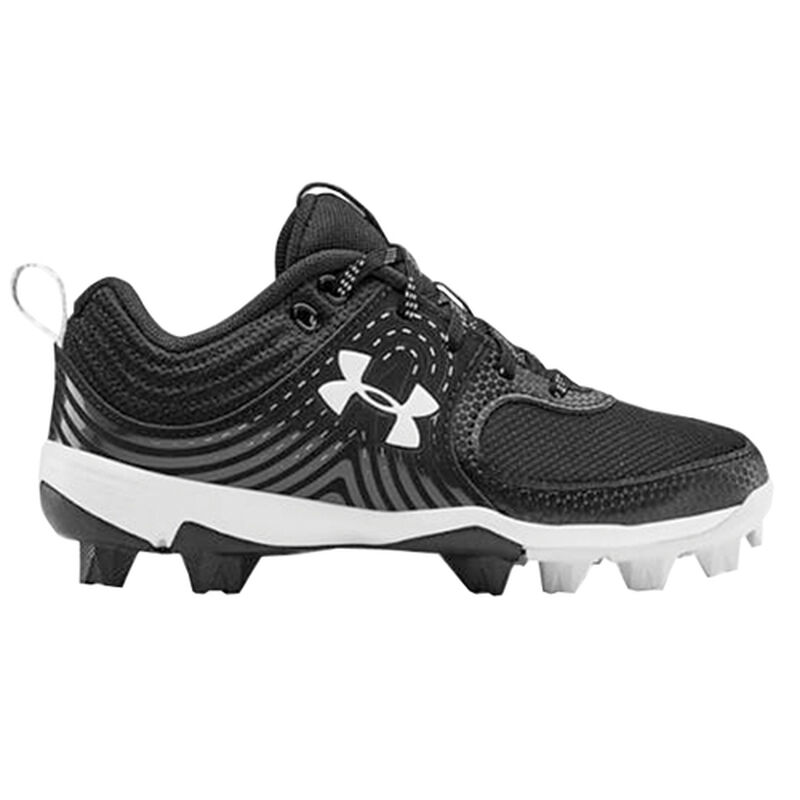 Youth Glyde Rubber Molded Baseball Cleats, , large image number 1
