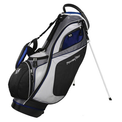 Golf Dunes 14-Way Stand Bag, Black/Blue, large