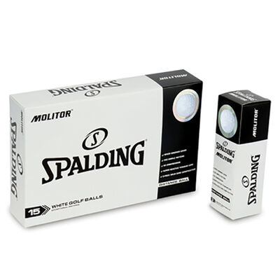 Spalding Molitor Golf Balls - 15-Pack