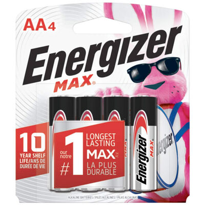 Energizer Max AA Batteries 4-Pack
