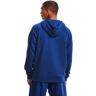 Men's Rival Fleece Hoodie, Blue, large