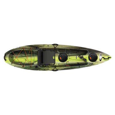 Contender 100XR Sit-On-Top Angler Kayak, Camouflage Brown, large