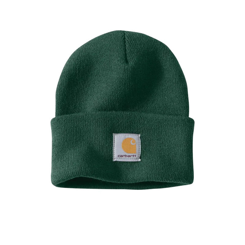 Men's Knit Cuffed Beanie North Woods, Green, large image number 0