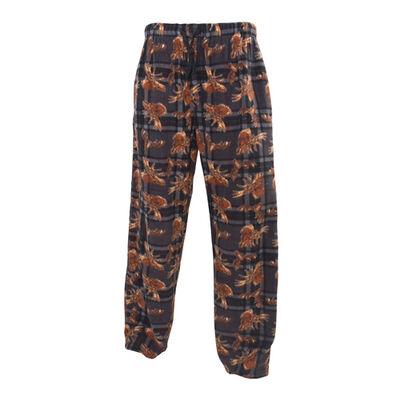 Men's Moose Print Lounge Pants, , large