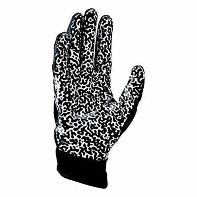 Adult Superbad 5.0 Football Gloves, Black/White, large