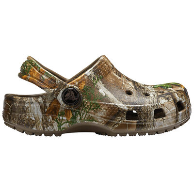Crocs Youth Classic RealTree Edge Clogs