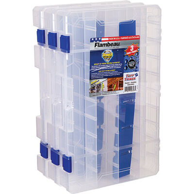 Flambeau Tuff 'Tainer 3-Pack Ultility Boxes