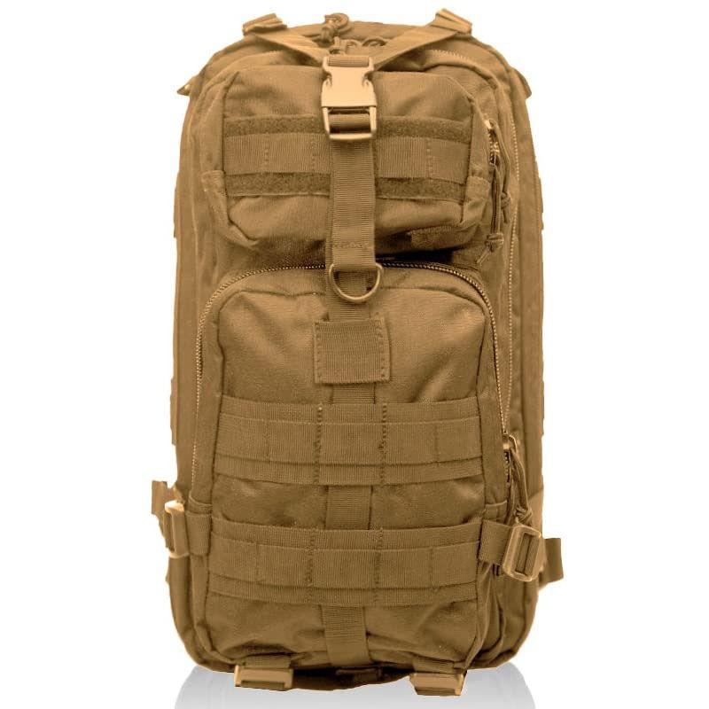 Medium Tactical Transport Backpack, Tan,Beige,Fawn,Khaki, large image number 0