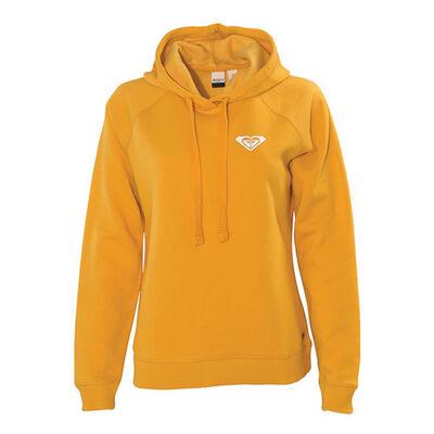 Women's Mustard Mountain Go To Fleece Hoodie, , large