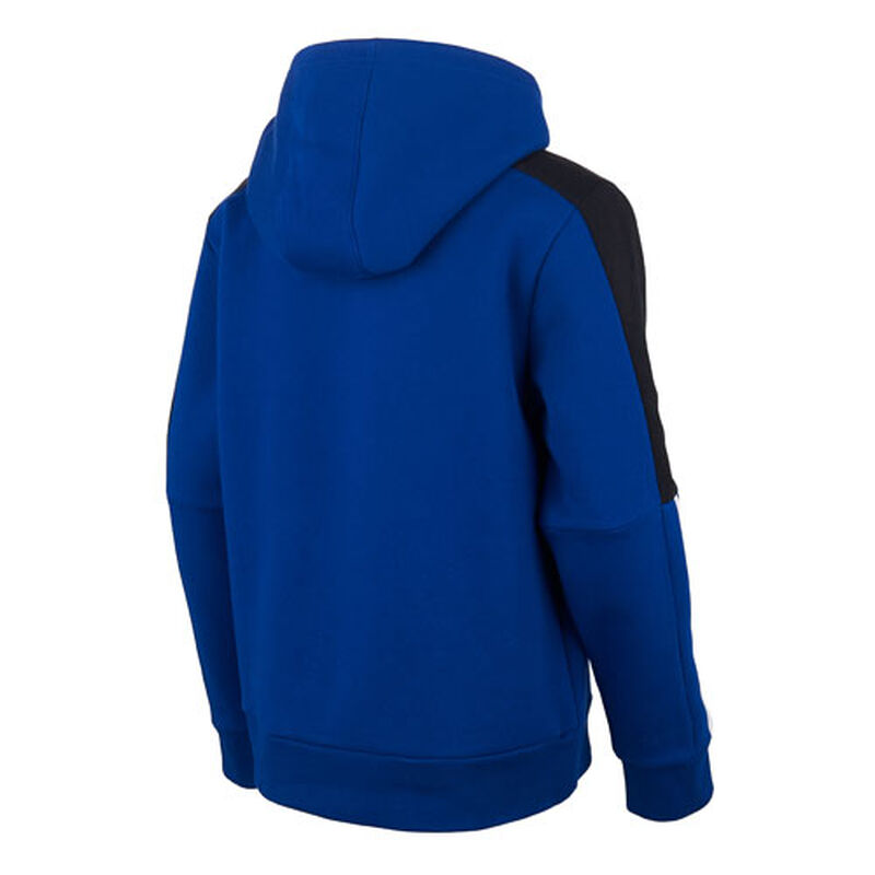 Boys' 3-Stripe Pullover Hoodie, Royal Bl,Sapphire,Marine, large image number 1