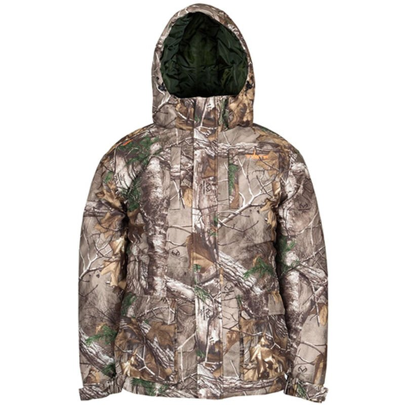 Men's RealTree Insulated Parka, Realtree Xtra, large image number 0