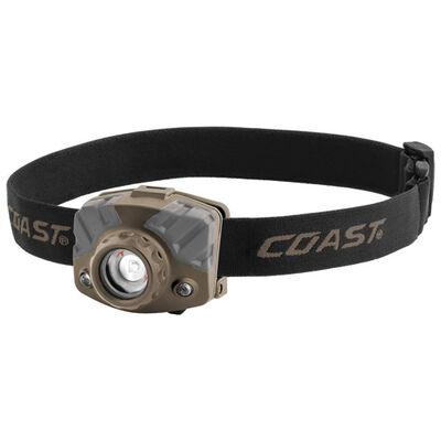 Coast Cutlery Fl68 400 Lumens Tri-color Led Head Lamp