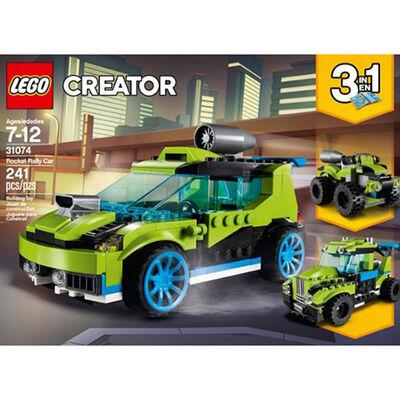 Lego Rocket Rally Car
