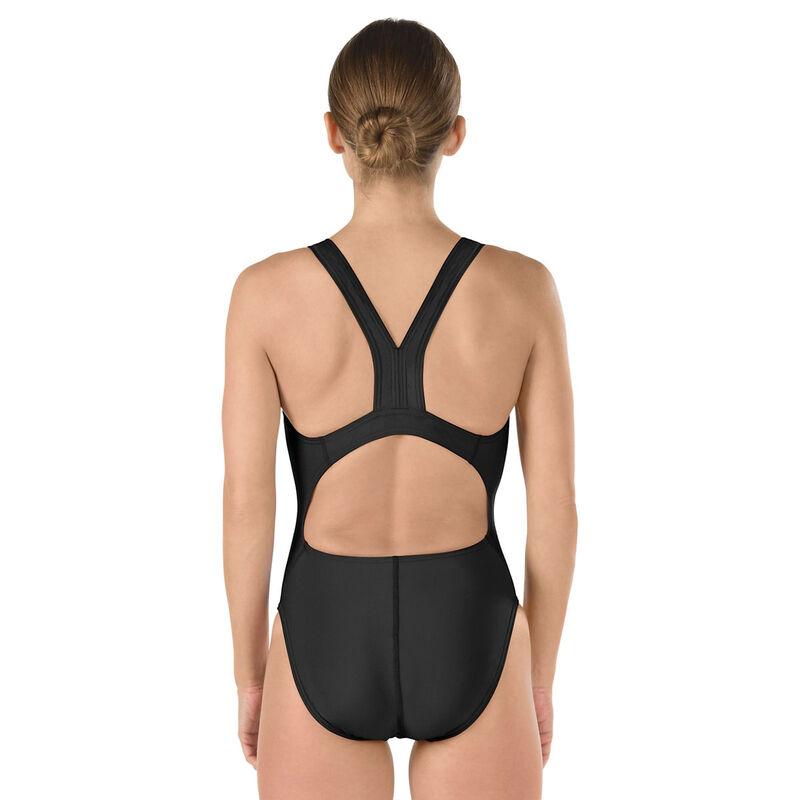 Conservative Ultraback One-Piece Swimsuit, Black, large image number 1