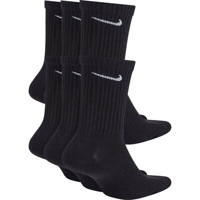 Men's Everyday Cushioned Crew Socks - 6-Pack, , large
