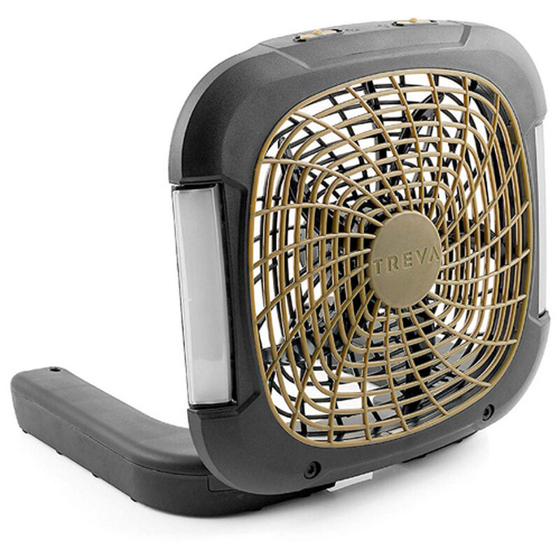 """10"""" Camping Fan with Lights, , large image number 0"""