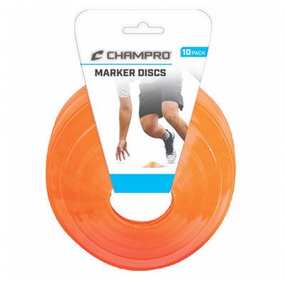 "Champro 7.5"" Plastic Marker Discs 10-Pack"