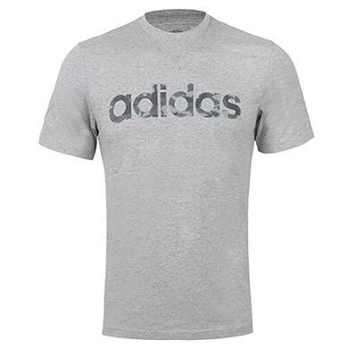 adidas Men's Short Sleeve Camo Linear Tee
