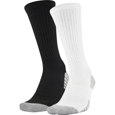 Under Armour Men's 2 Pack Tech Crew Socks