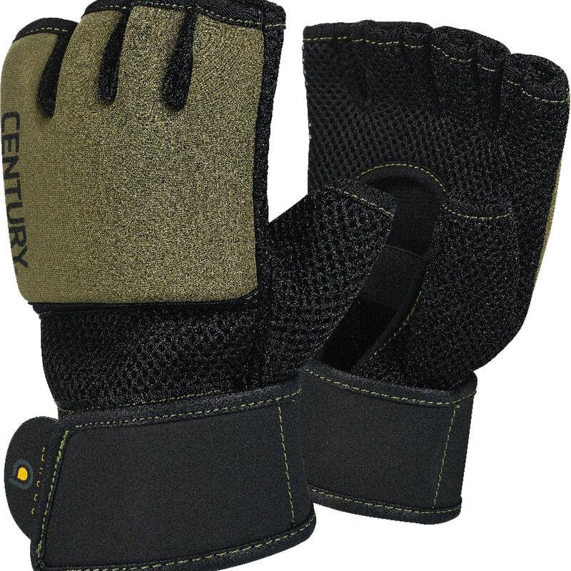 Brave Gel Training Gloves, Black/Olive, large image number 0
