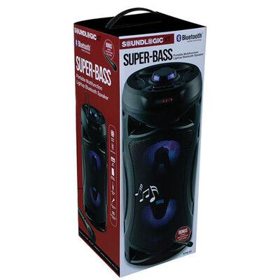 Sound Logic Super-Bass Portable Light-Up Speaker