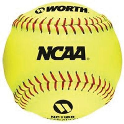 "Worth 11"" NCAA Outdoor Training Softball"
