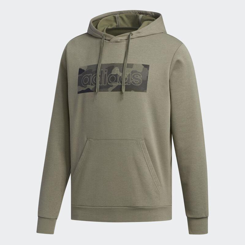 Men's Camo Box Fleece Hoodie, Dkgreen,Moss,Olive,Forest, large image number 1
