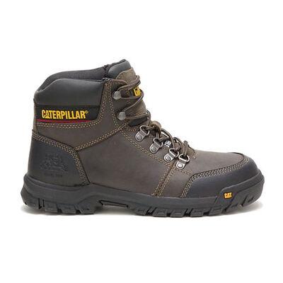 Cat Men's Outline Steel Toe Work Boots