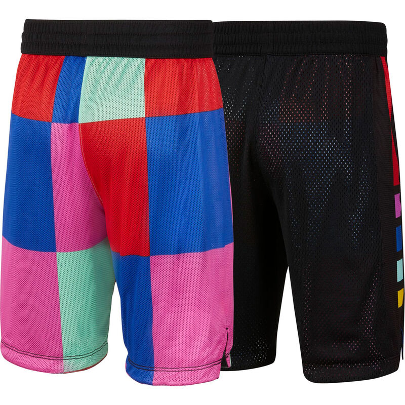 Boys' Elite Reversible Shorts, Black, large image number 1