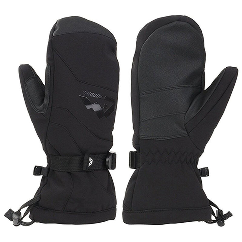 Women's Fall Line III Mittens, Black, large image number 0