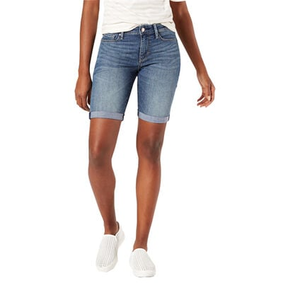 Signature by Levi Strauss & Co. Gold Label Women's Mid-Rise Bermuda Shorts
