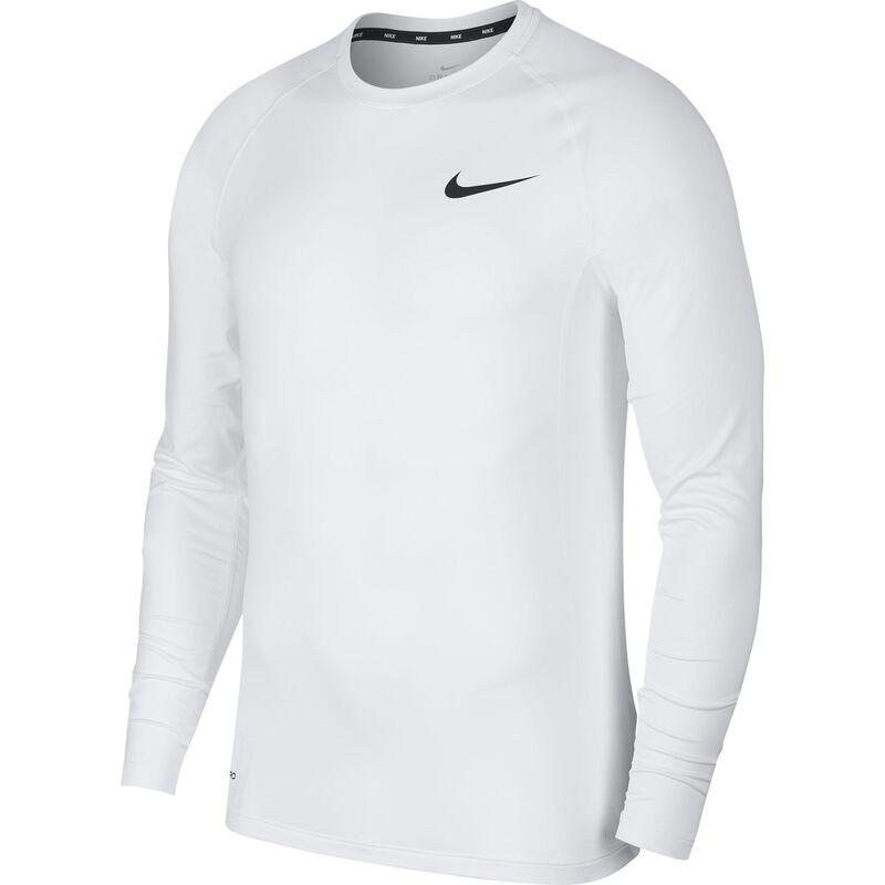 Men's Long Sleeve Slim Fit Top, White, large image number 2