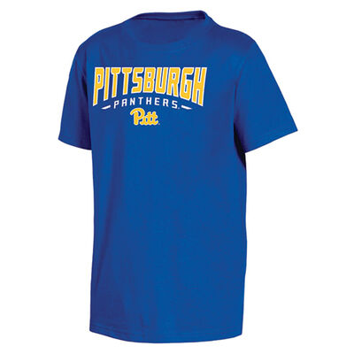 Knights Apparel Men's Short Sleeve Pittsburgh Classic Arch Tee