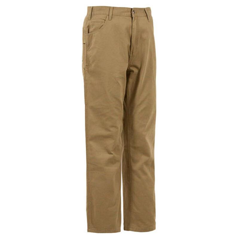 Men's Washed Duck Carpenter Jean, Brown, large image number 0