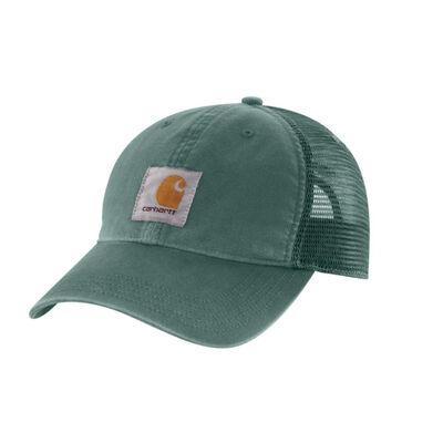 Carhartt Men's OFA Musk Green Cotton Buffalo Sandstone Meshback Cap