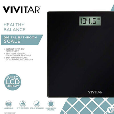 Vivitar Healthy Balance Digital Bathroom Scale