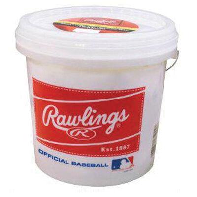 Rawlings 2 Dozen Baseballs With Bucket