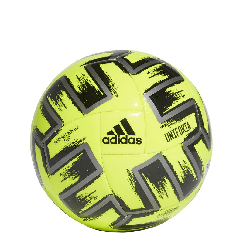 Uniforia Club Soccer Ball, Neon Yellow, large image number 4